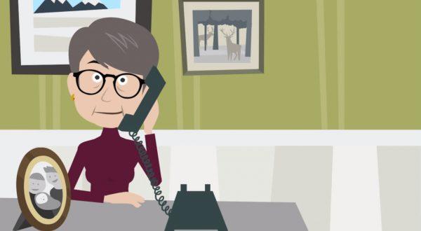 Link til video - Hjælp til at høre i fastnettelefon